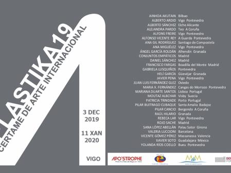 'A Marat' participa en el III Certamen de Arte Internacional PLASTIKA'19.