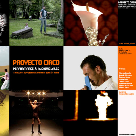 Proyecto Circo. Performance & Audiovisuales