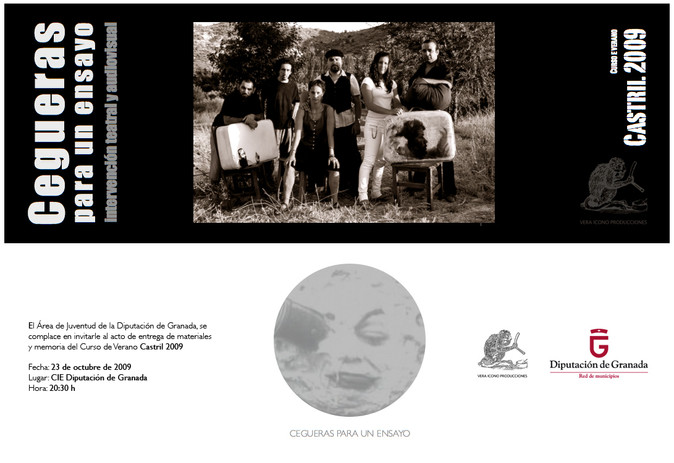 CEGUERAS PARA UN ENSAYO. Flyer.3
