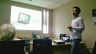Presentasi pelatihan BIM kepada Angkasapura Airport