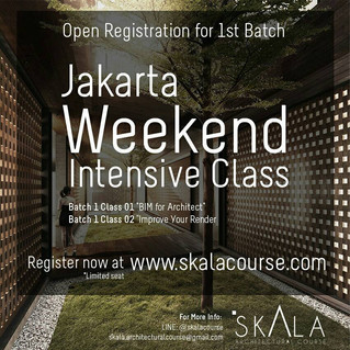 "Open Registration : ""1st Batch Weekend Intensive Class"""