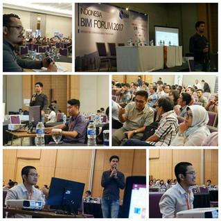 SKALA Course Team sebagai pembicara di BIM Forum 2017