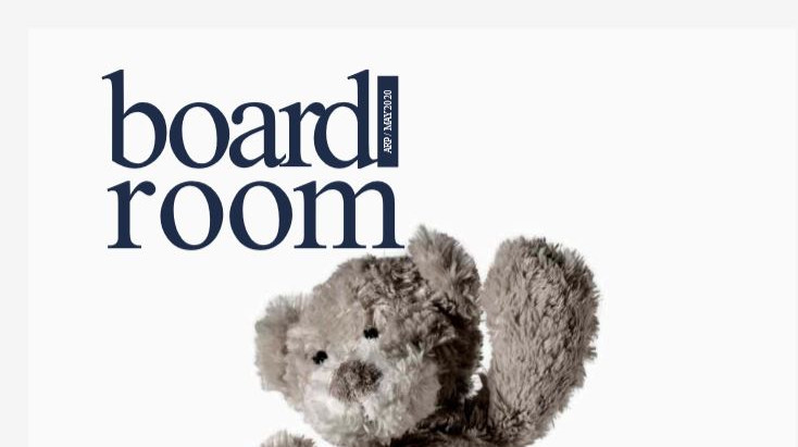 Boardroom magazine features OnBoard
