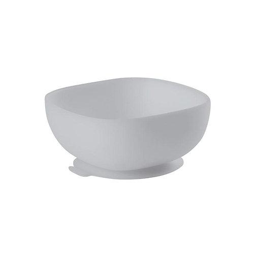 Beaba Silicone Suctio Bowl Gr Тарелка из силикона, Grey