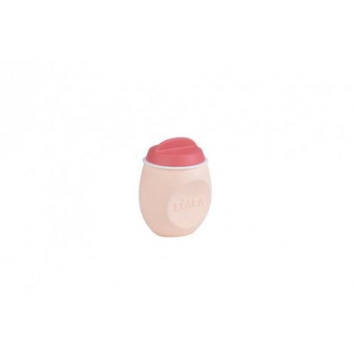 Beaba Squeez'Portion Контейнер из силикона, Pink
