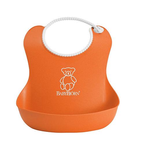 BabyBjorn / Нагрудник мягкий пластиковый для кормления ребенка