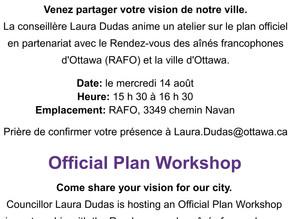Official Plan Workshop