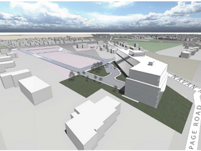 ICYMI: Caivan proposes a 6-storey building (100-150 units) at the corner of Navan/Page/Renaud