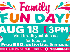Family Fun Day is TODAY!