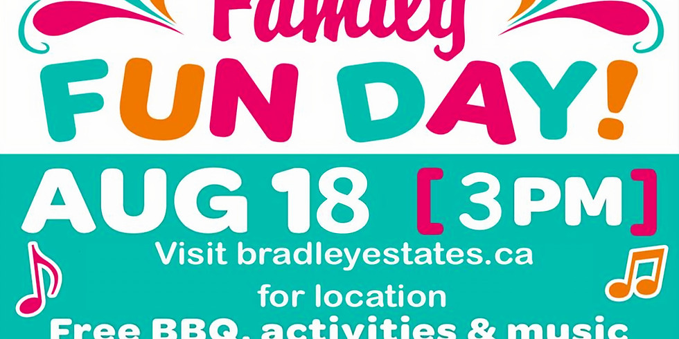 Family Fun Day and BBQ
