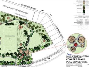 HEADS UP: Spring Valley Trails Community Park concept plans public consultation