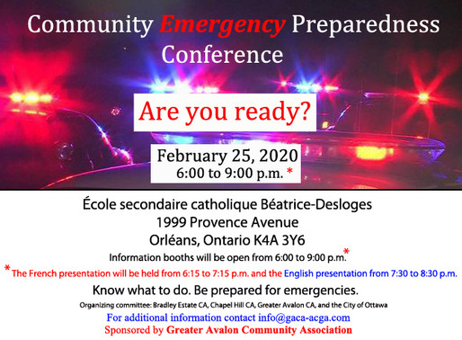 Emergency Preparedness Conference