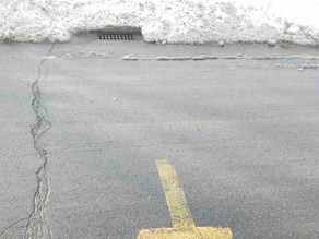 Clearing catch basins and fire hydrants