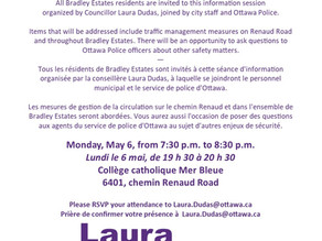 Councillor's meeting on traffic safety