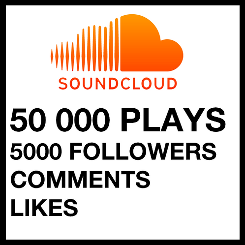 50 000 Plays on SoundCloud