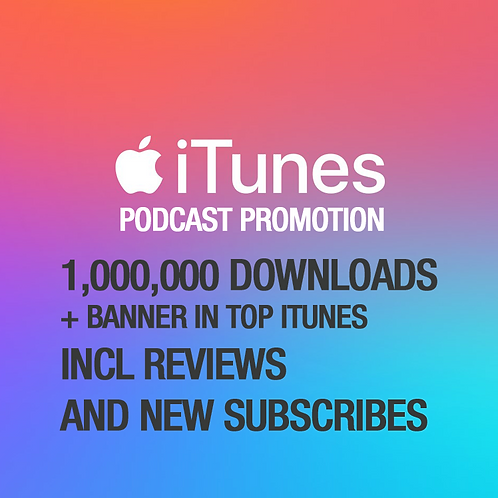 1,000,000 Downloads on iTunes Podcast
