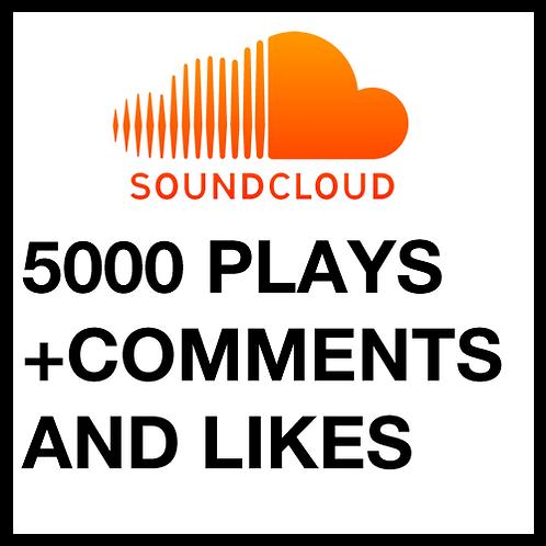 5000 Plays on SoundCloud