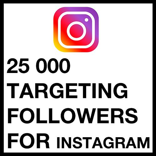 25 000 Instagram Followers