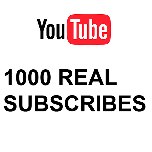 1000 Real Subscribes
