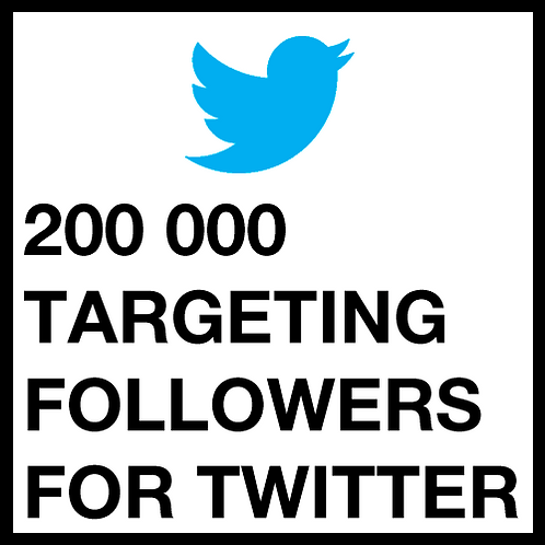 200 000 Twitter Followers