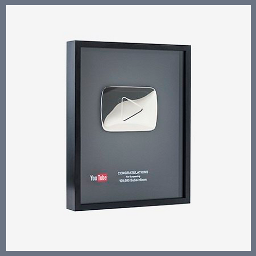 100,000 Real Subscribes (Silver Button)