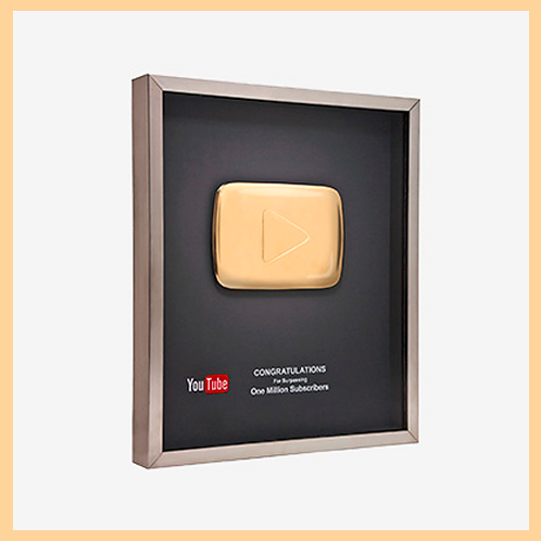 1 000,000 Real Subscribes (Gold Button)