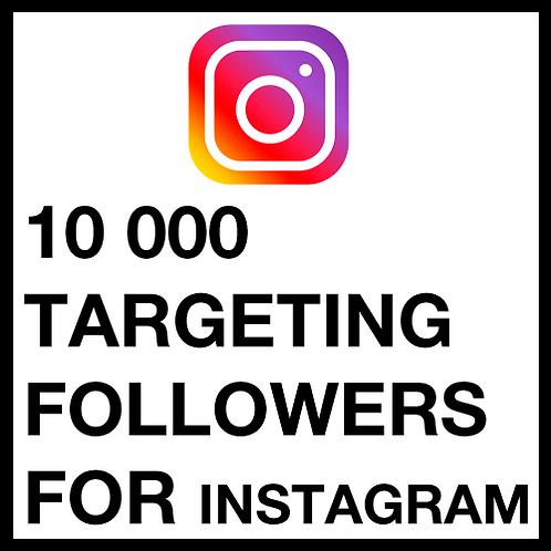 10 000 Instagram Followers