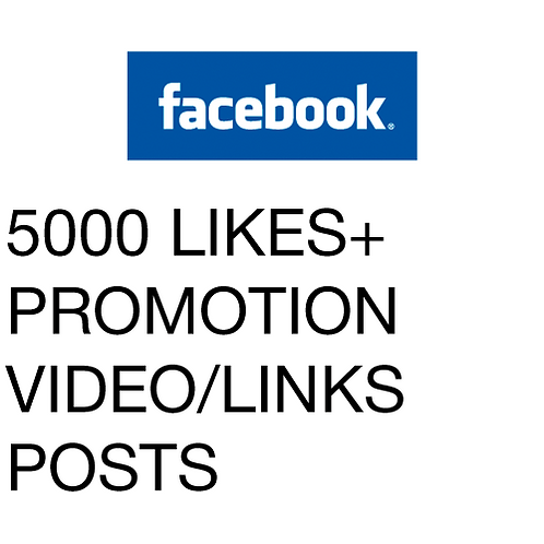 5000 Likes for Facebook