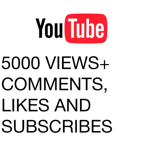 5000 Views for YouTube