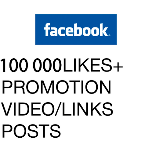 100 000 Likes for Facebook