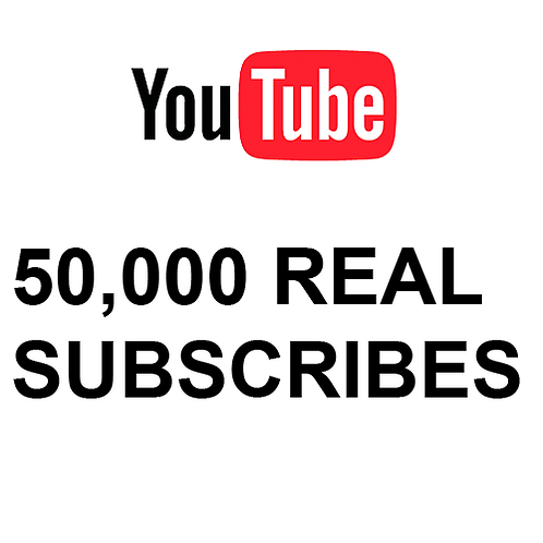 50,000 Real Subscribes