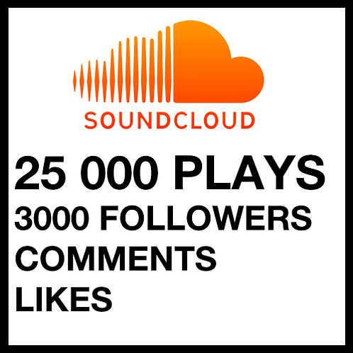25 000 Plays on SoundCloud