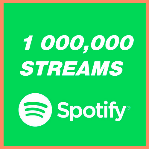 1M Streams for Spotify (Viral Promotion)