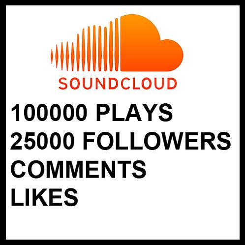 100 000 Plays on SoundCloud