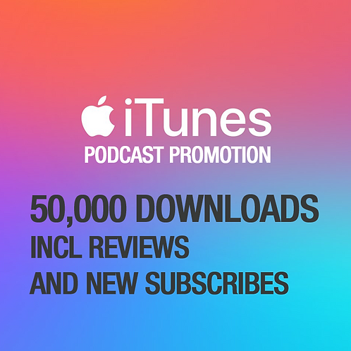 50,000 Downloads on iTunes Podcast