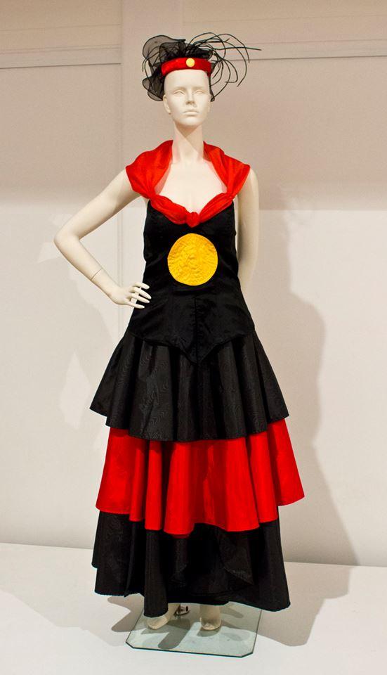 Aboriginal Wedding Gown