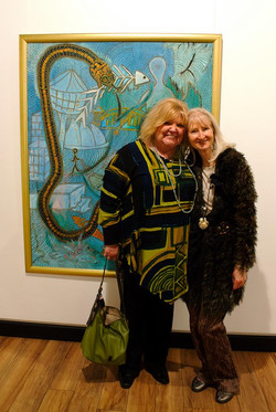 Beverley Wenster and Grace Shanti