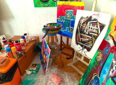 Schleber: Live Painting à Vence