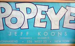 KOONS Jeff Popeye