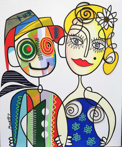 Love is all 120 x 100 cm