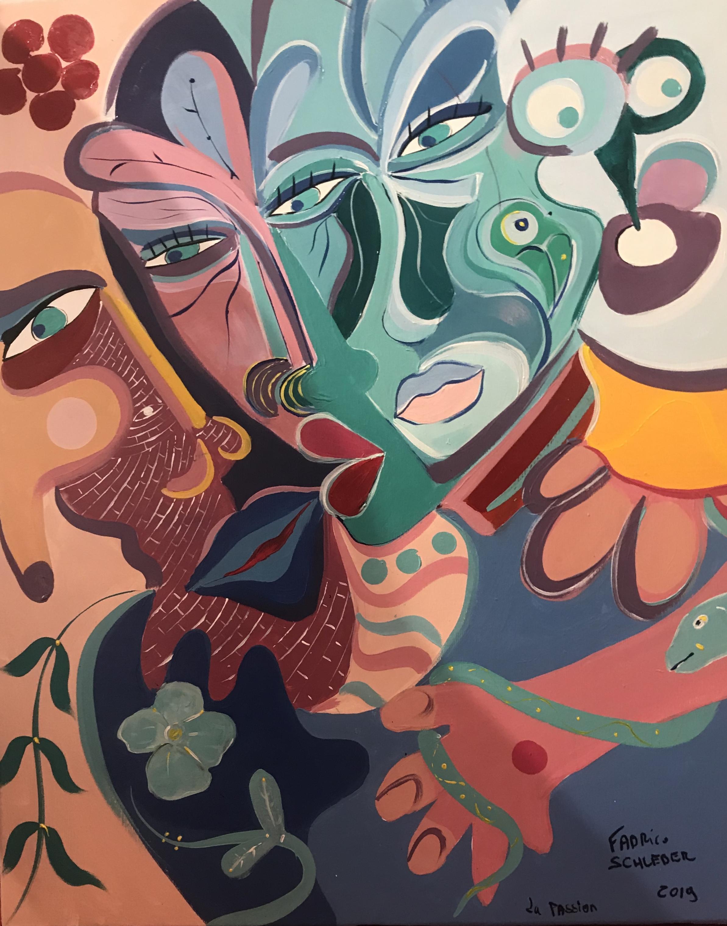 La Passion; 80 x 65 cm 2019