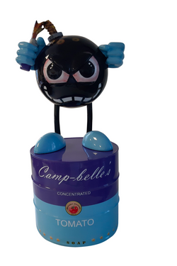 Camp-belle's Violet and Blue with black