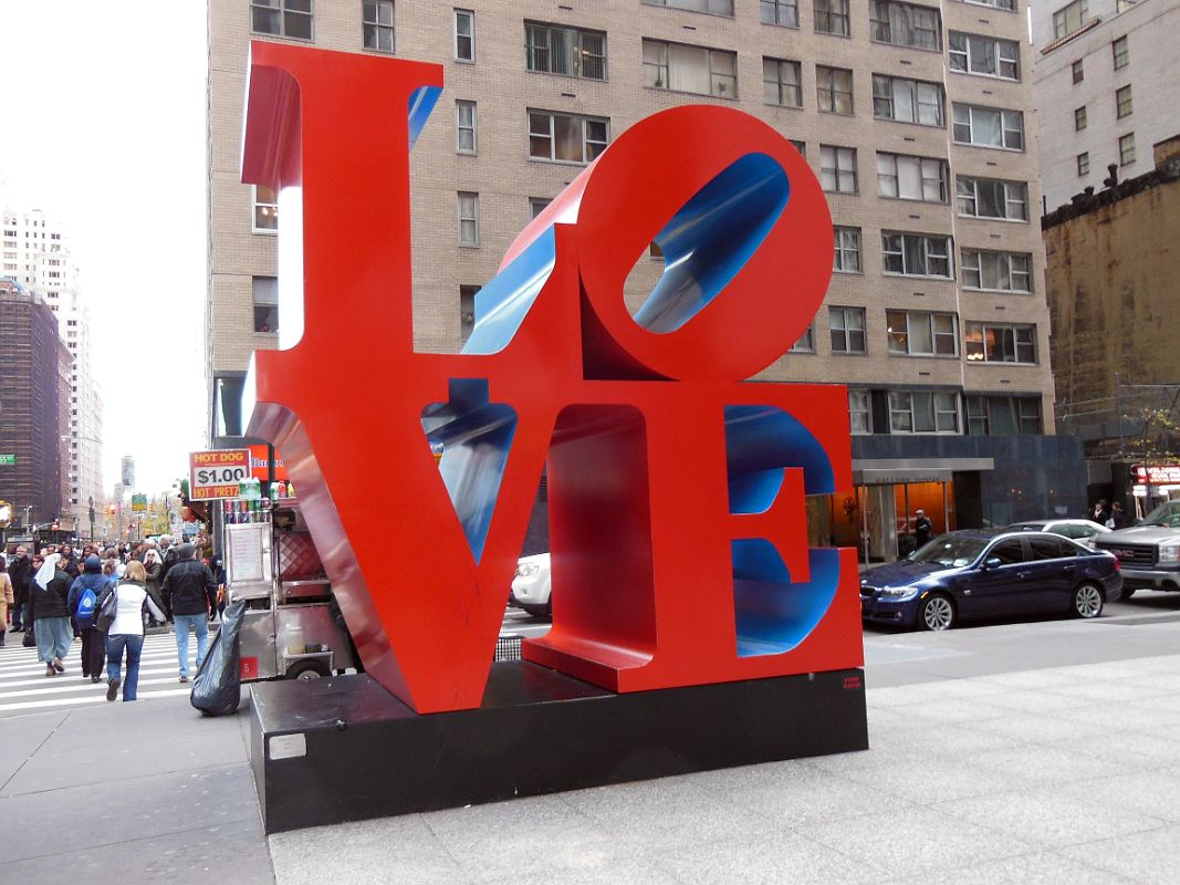New York City Sculpture Love By Robert I