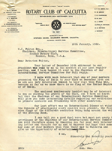 1932_1_18_From_Calcutta(British India)_T