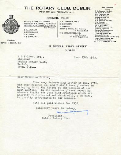 1932_1_13_From_Dublin(Ireland)_To_Keokuk
