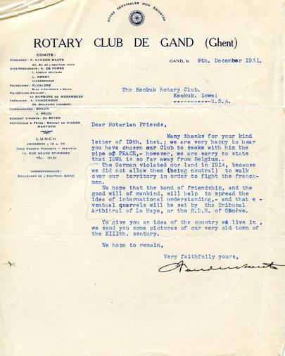 1931_12_9_From_Gent(Belgium)_To_Keokuk(U