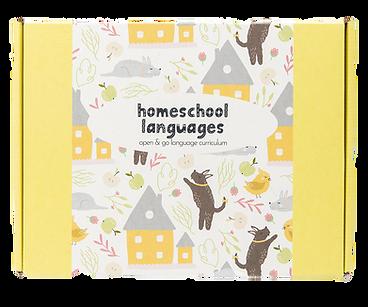 homeschool language curriculum