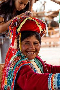 peruvian culture - woman
