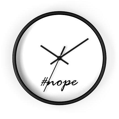 #nope wall clock