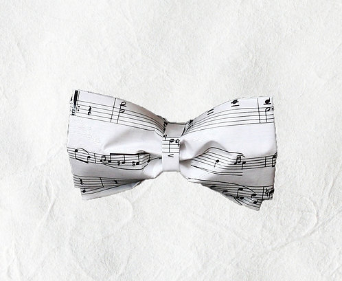 Musical Notes Beaux-Tie